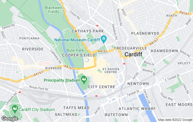 Map for Savills , Cardiff Offices