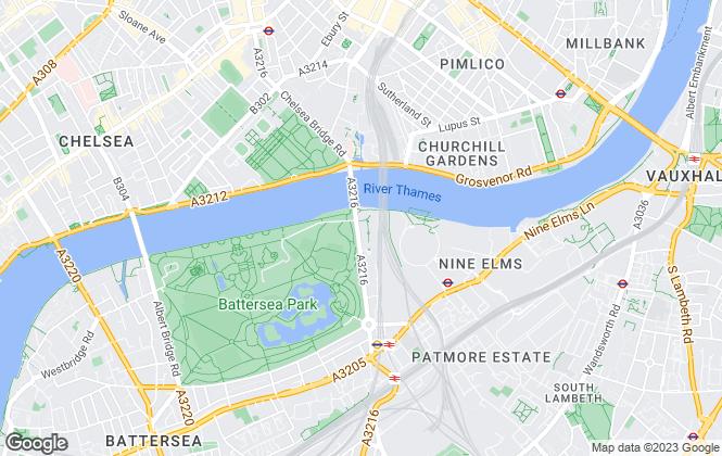 Map for Garton Jones, London