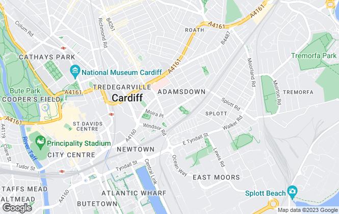 Map for iLet4u, Cardiff
