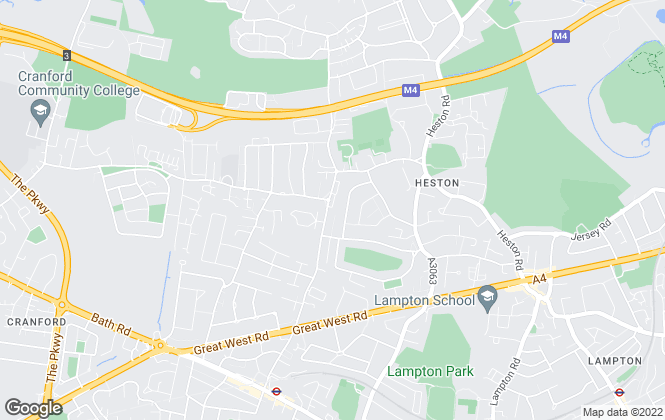 Map for Blue Estate Agents Ltd, Heston, Hounslow
