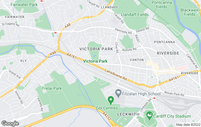 Map for Peter Alan, Victoria Park - Lettings