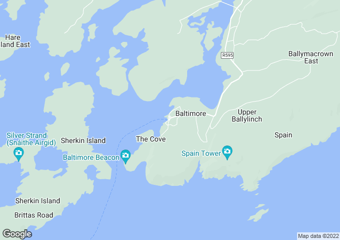 Map for Baltimore, Cork