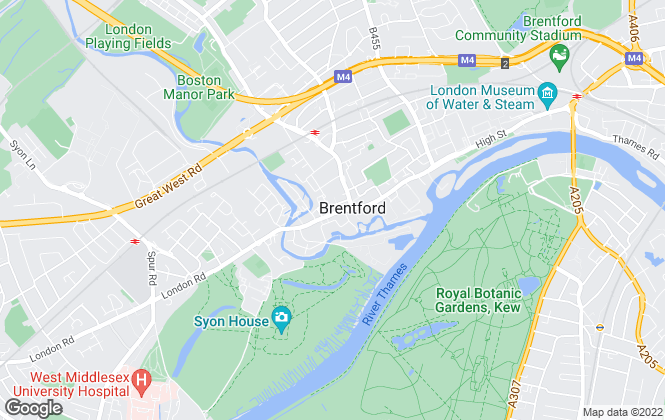 Map for Xavi & Co, Brentford