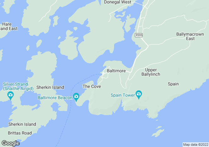 Map for The Post House, Baltimore, Co Cork