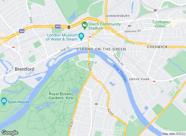 Map for Priory Management , Richmond