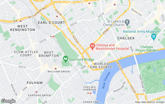 Map for Breteuil, London