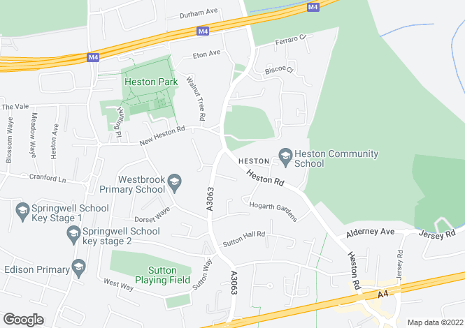Map for Heston Road,