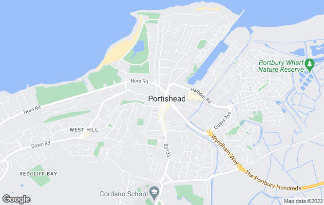 Map for Goodman & Lilley, Portishead