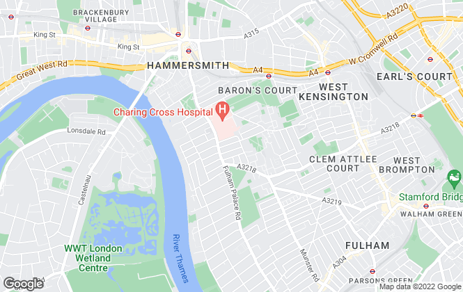 Map for Cannons Estate Agents, London