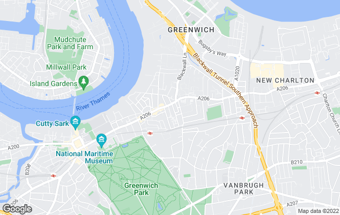 Map for Chestertons Estate Agents , Greenwich & Blackheath