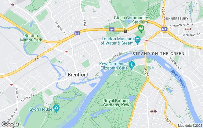Map for Thorgills, Brentford