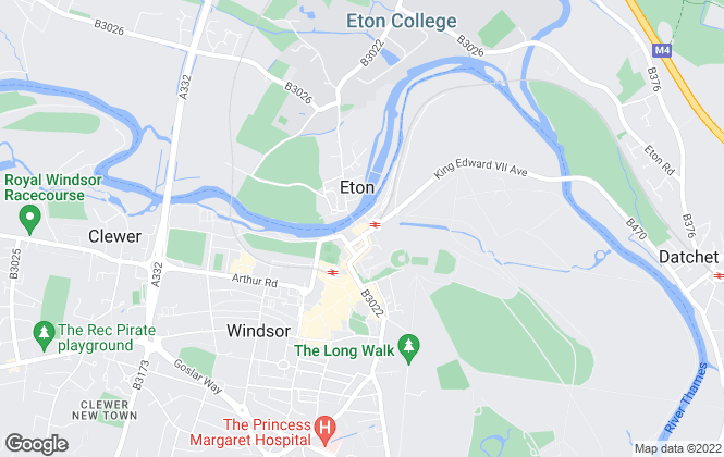 Map for Lawsons Residential, Windsor