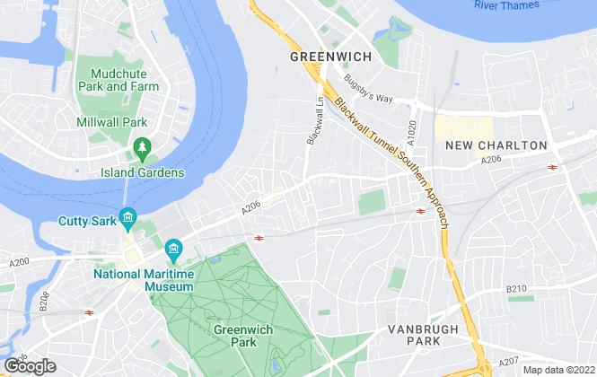 Map for Chestertons Estate Agents , Greenwich & Blackheath Lettings