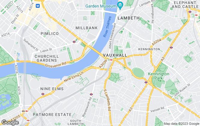 Map for Life Residential, Nine Elms Riverside Office - Lettings