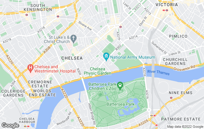 Map for Chapeltons Estate Agents, London