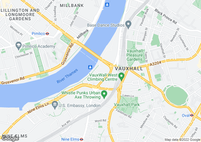Map for Drake House, Vauxhall, SW8