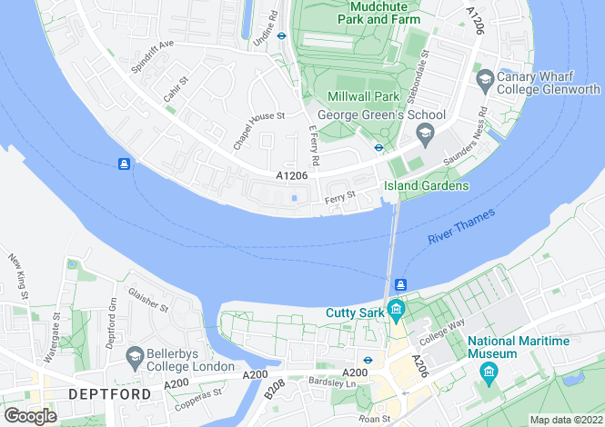 Map for St Davids Square, Locks Wharf, Canary Wharf, E14 3WA