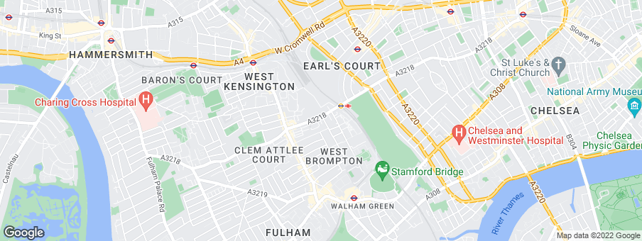 Map for Knight Frank - New Homes