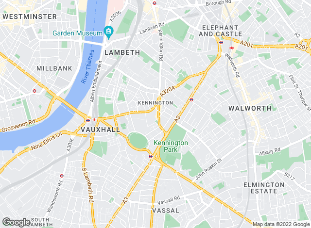 Map for Kinleigh Folkard & Hayward - Sales, Kennington