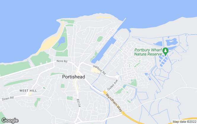 Map for Alliance Homes Group , Portishead
