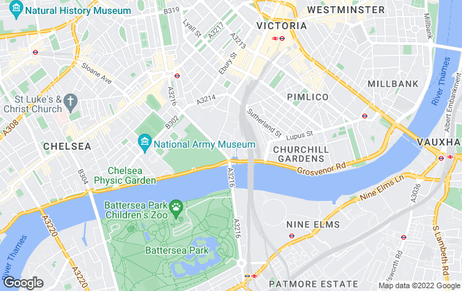 Map for Chase Apartments, London