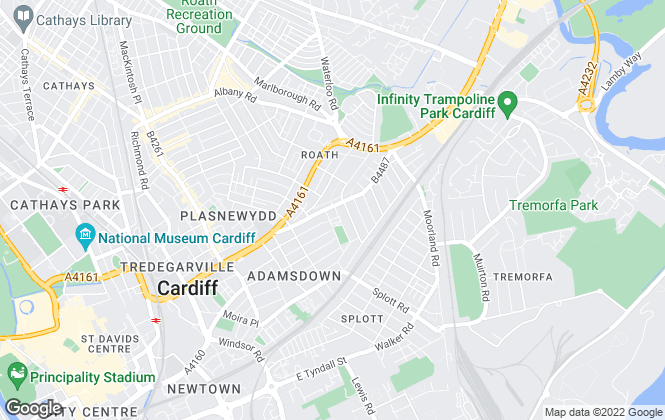 Map for Zest Living, Cardiff