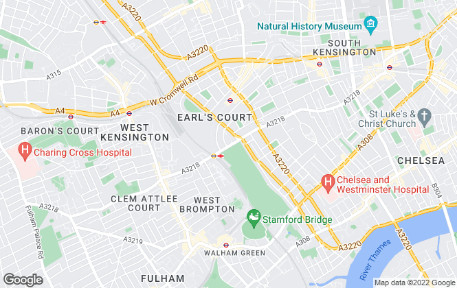 Map for Casa Londra, London