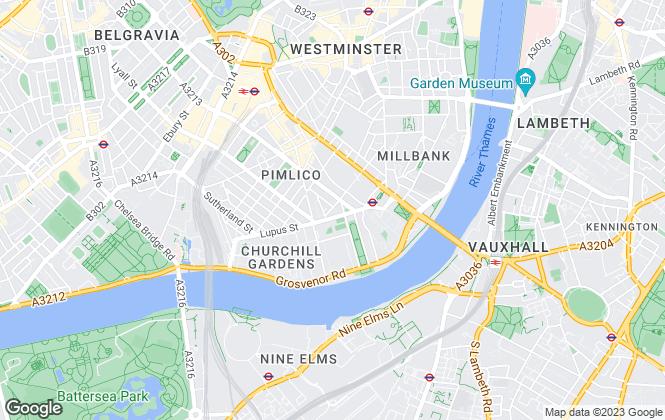 Map for Belvoir, London Central Sales