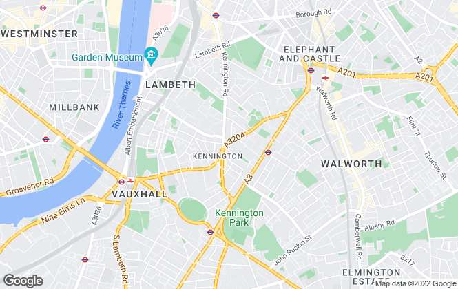 Map for Atkinson McLeod, Kennington - Lettings