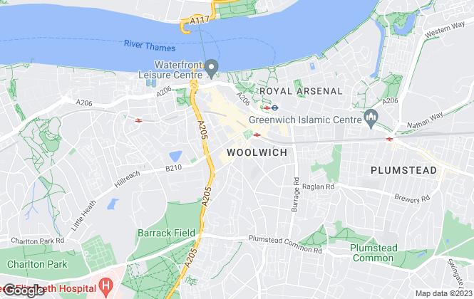 Map for PK Sales & Lettings Ltd, London