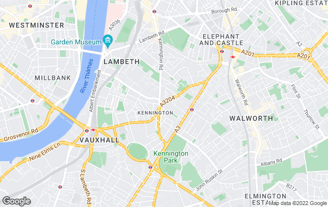 Map for Atkinson McLeod, Kennington - Sales