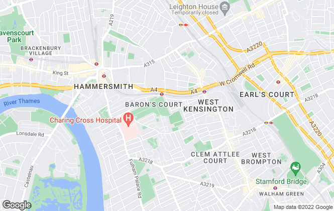Map for Shaws Estate Agents, Lettings