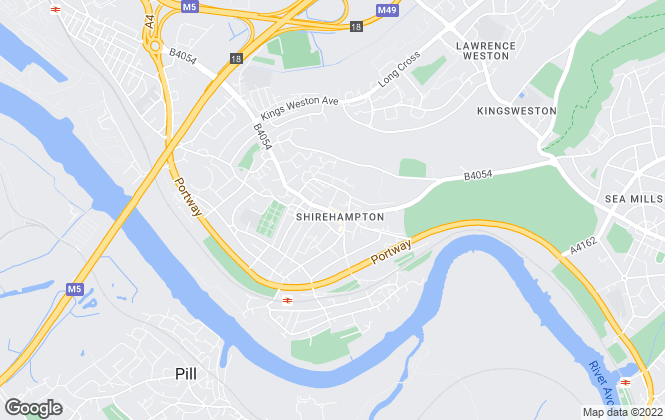 Map for Ocean, Shirehampton