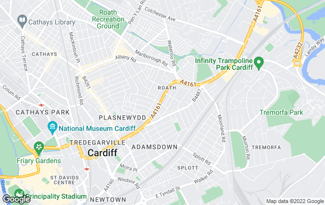 Map for Mark Loosemore Full SIPP , Cardiff