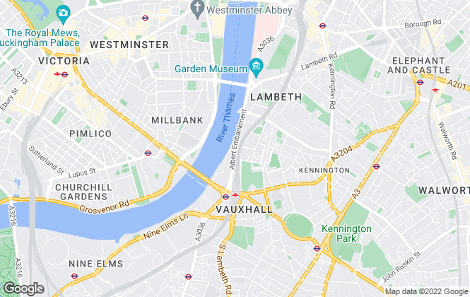 Map for London Property Management, London