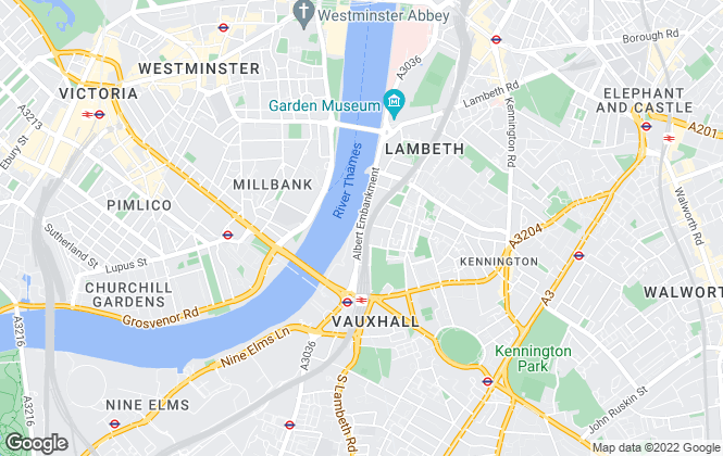 Map for riverhomes, Vauxhall