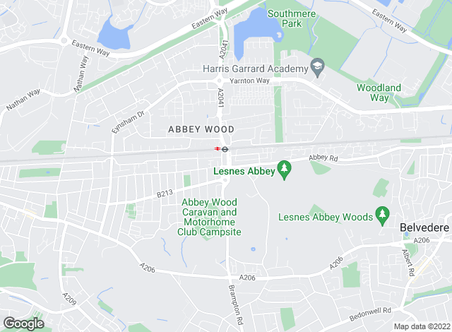 Map for Able Estates, Abbeywood
