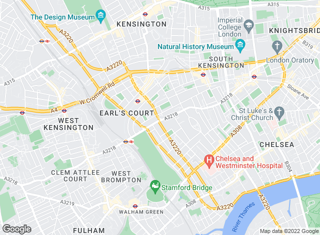 Map for Faron Sutaria Sales, Earls Court