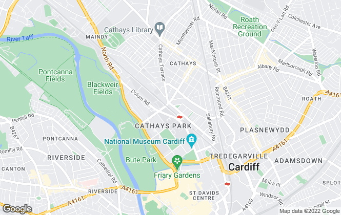 Map for Reliant Estate Agents Ltd, Cardiff