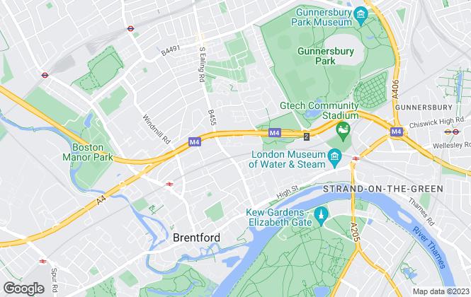 Map for Link-Estates, Brentford