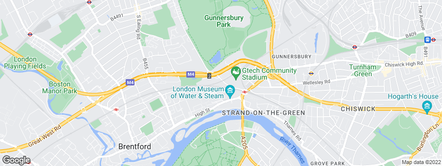 Map for EcoWorld London