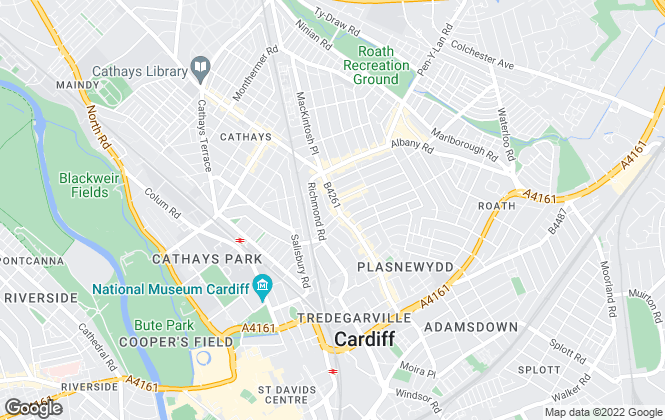 Map for Property-Direct.co.uk Ltd, Cardiff