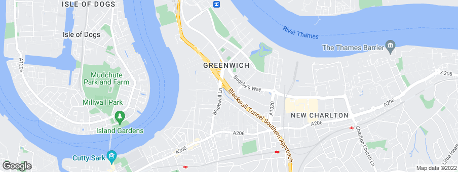 Map for Bellway Homes (Thames Gateway)