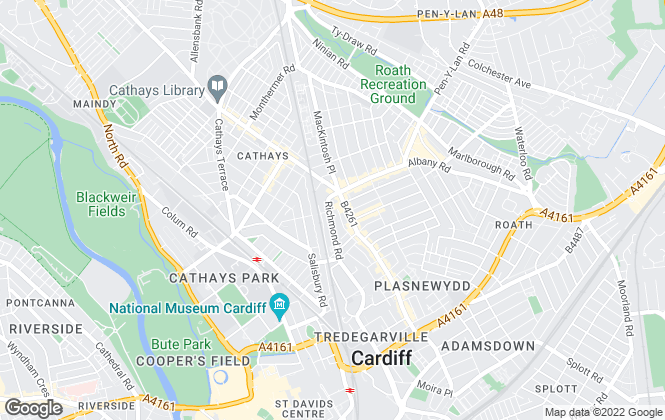 Map for Imperial Property Services, Cardiff