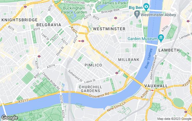 Map for Dauntons, London