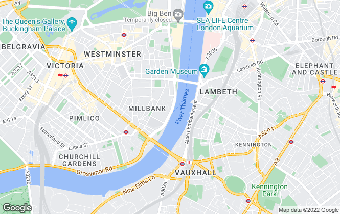 Map for Approved Property Services, London