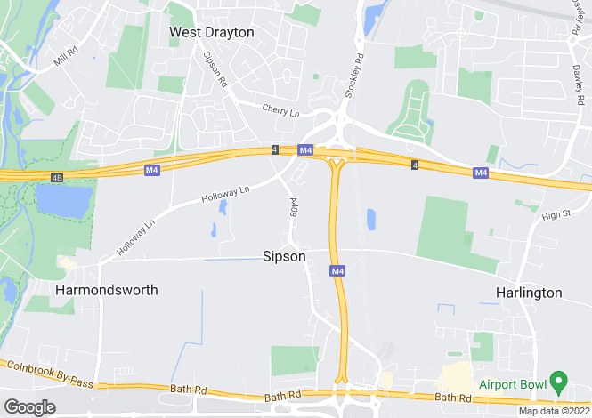 Map for SIPSON, WEST DRAYTON