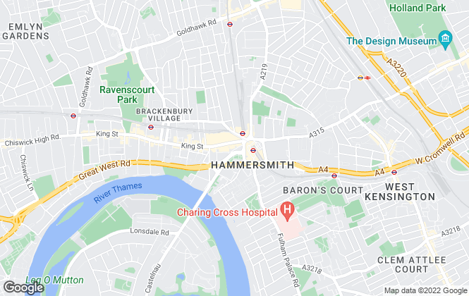 Map for Willmotts, London