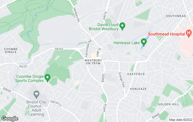 Map for Connells, Westbury on Trym