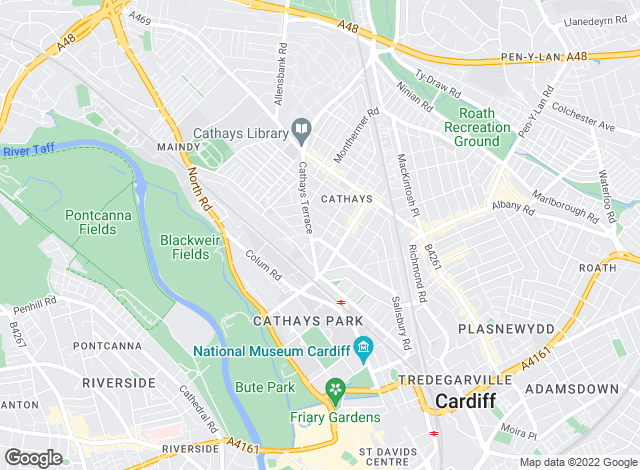 Map for Pinnacle Letting Agents, Cardiff